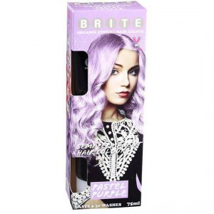Brite Organix Semi Permanent Hair Colour Pastel Purple