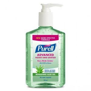 Purell Aloe Hand Sanitiser Gel
