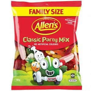 Allen's Party Mix Classic Lollies