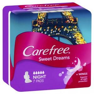 Carefree Sweet Dreams Night Pads