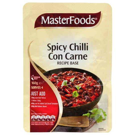 Masterfoods Chilli Con Carne Recipe Base