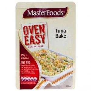 Masterfoods Tuna Bake Recipe Base