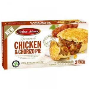 Herbert Adams Pie Chicken & Chorizo