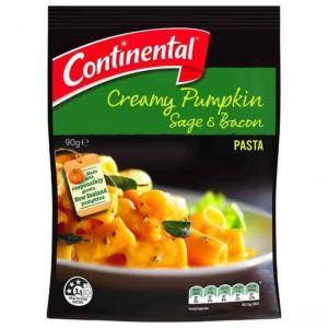 Continental Side Dish Creamy Pumpkin Sage & Bacon