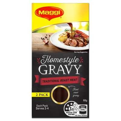 Maggi Homestyle Gravy Concentrate Roast Meat