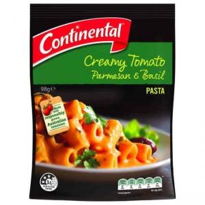 Continental Side Dish Creamy Tomato Parmesan & Basil