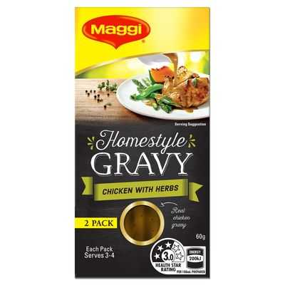 Maggi Homestyle Gravy Concentrate Roast Chicken