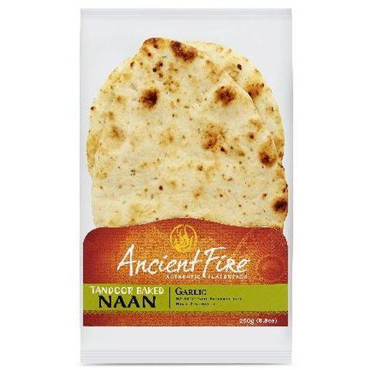 Ancient Fire Garlic Naan Bread