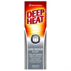 Mentholatum Low Odour Deep Heat Relief