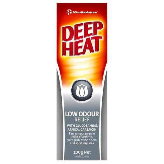 Mentholatum Low Odour Deep Heat Relief