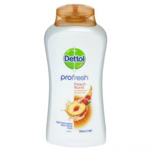 Dettol Profresh Shower Gel Peach Burst