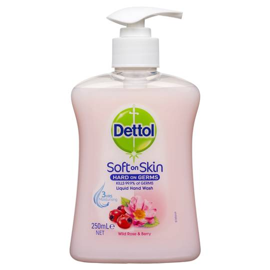 Dettol Liquid Hand Wash Pump Wild Rose & Berry
