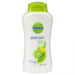 Dettol Profresh Shower Gel Citrus Splash
