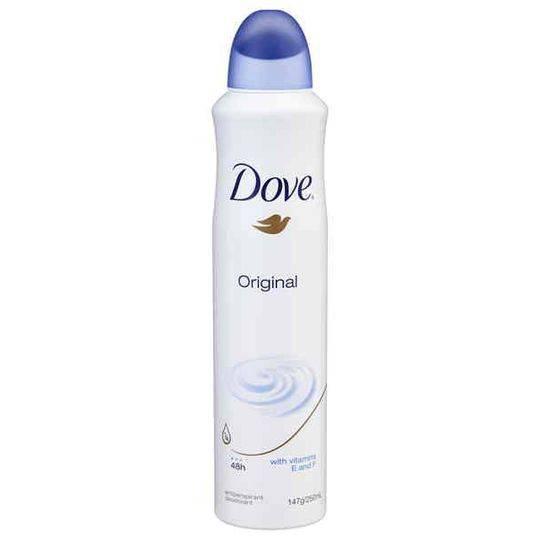 Dove Women Antiperspirant Deodorant Spray Original