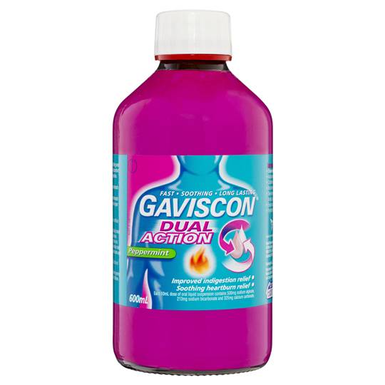 Gaviscon Liquid Dual Action