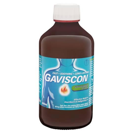 Gaviscon Peppermint Liquid