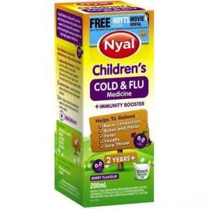 Nyal Children's Berry Cold & Flu Medicine Plus Immunity Booster 2yrs+