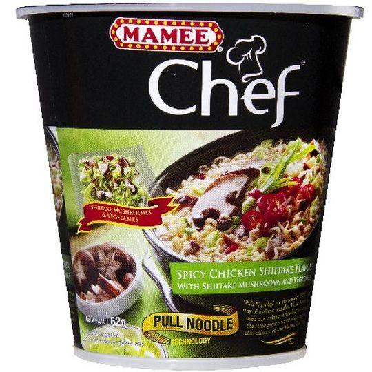 Mamee Chef Chicken Shitake Cup
