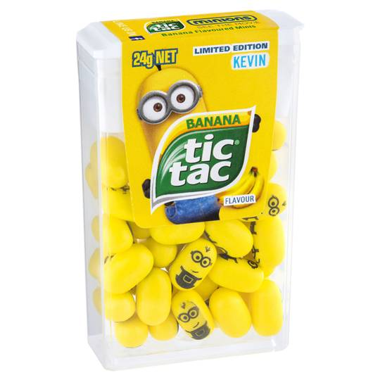 Tic Tac Minion Bananas