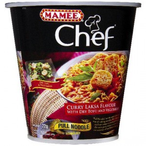 Mamee Chef Curry Laksa Cup