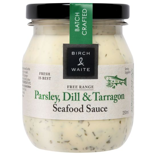 Birch & Waite Seafood Sauce Parsley Dill & Tarragon