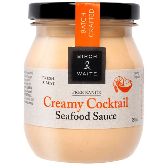 Birch & Waite Seafood Sauce Creamy Cocktail