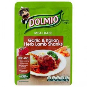 Dolmio Garlic & Italian Herbs Lamb Shank Meal Base