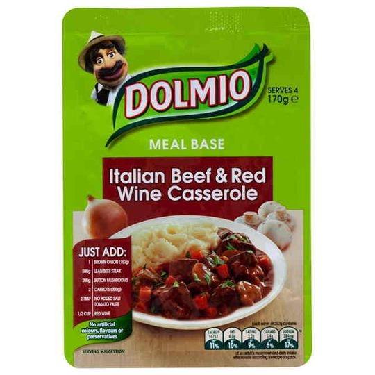 Dolmio Italian Beef & Red Wine Casserole Meal Base
