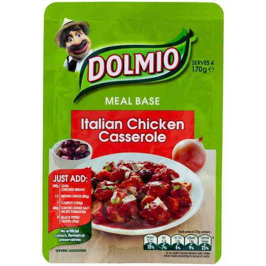 Dolmio Italian Chicken Casserole Meal Base