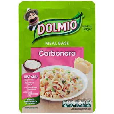 Dolmio Carbonara Meal Base