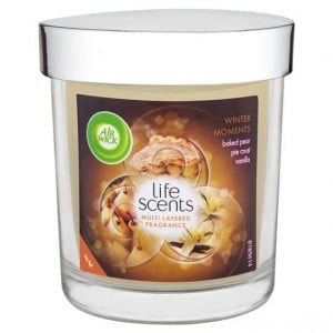 Air Wick Life Scents Winter Moments Candle