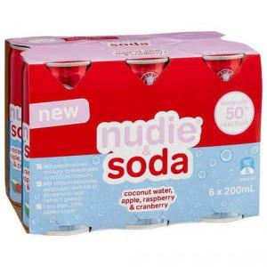 Nudie & Soda Cranberry Raspberry & Coconut