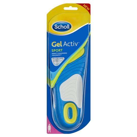 Scholl Gelactiv Insoles Women's Sport