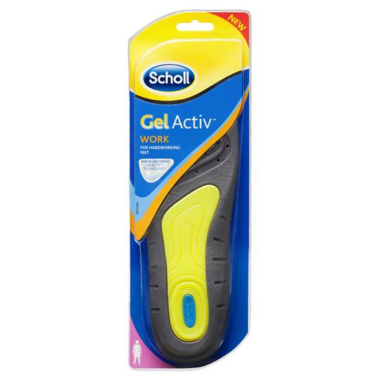 Scholl Gelactiv Insoles Women's Work