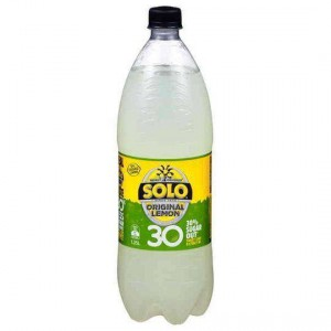 Solo Lemon 30% Less