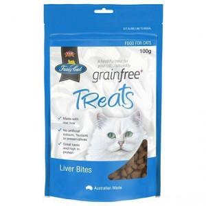 Vip Fussy Cat Grain Free Liver Bites Cat Treats