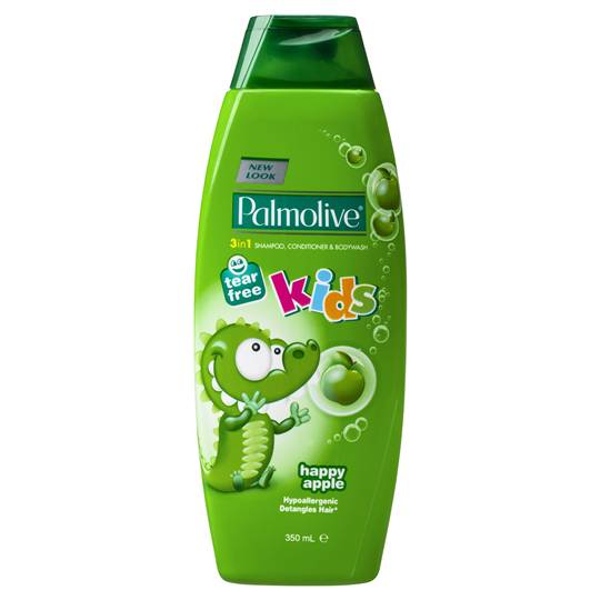 Palmolive Naturals Kids 3in1 Happy Apple Shampoo Conditioner & Bodywash