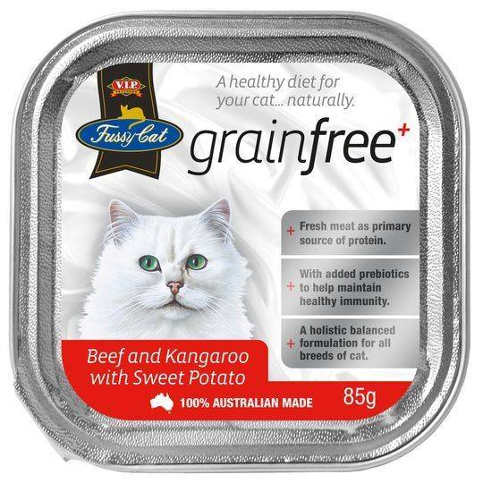 Vip Fussy Cat Grain Free Beef & Kangaroo With Sweet Potato Cat Food
