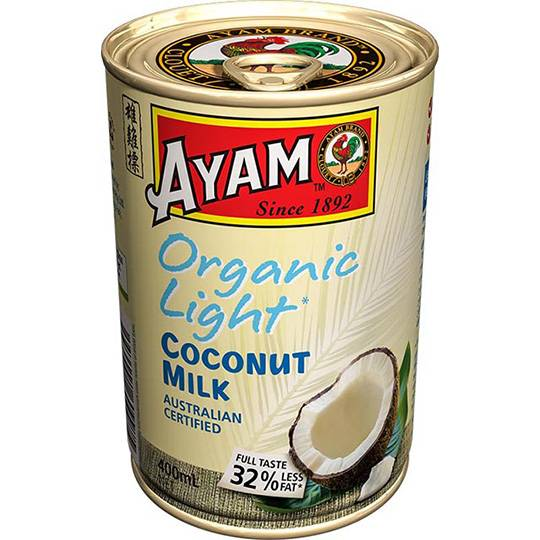 Ayam Organic Light Coconut Milk