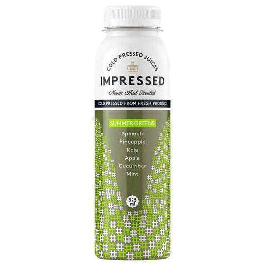 Impressed Cold Pressed Juice Summer Greens