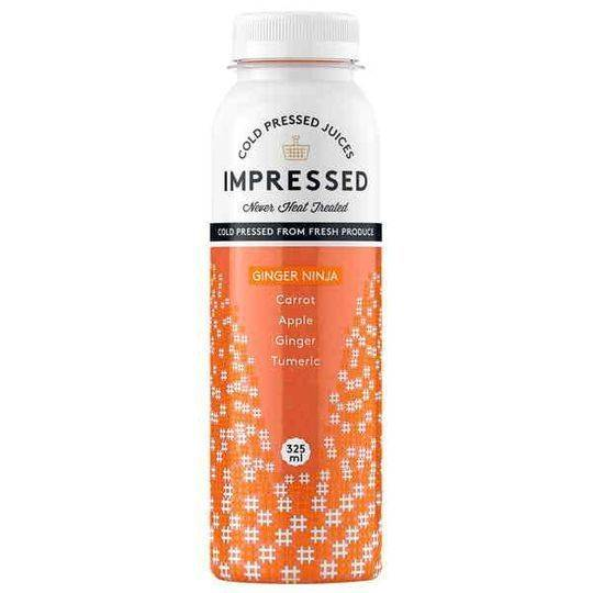 Impressed Cold Pressed Juice Ginger Ninja