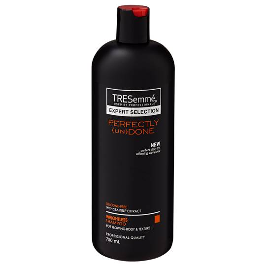 Tresemme Expert Selection Shampoo Perfectly Undone