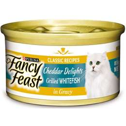 Fancy Feast Classic Cheddar Delights Grilled Whitefish In Gravy