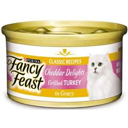 Fancy Feast Classic Cheddar Delights Grilled Turkey In Gravy