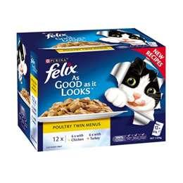 Felix As Good As It Looks Poultry Twin Menus