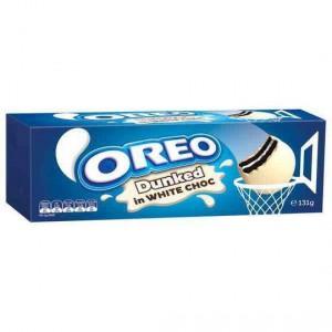 Oreo Dunked In White Chocolate