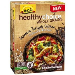 Mccain Healthy Choice Wholegrains Teriyaki Chicken