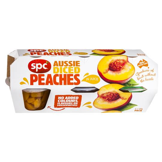 Spc Diced Peach