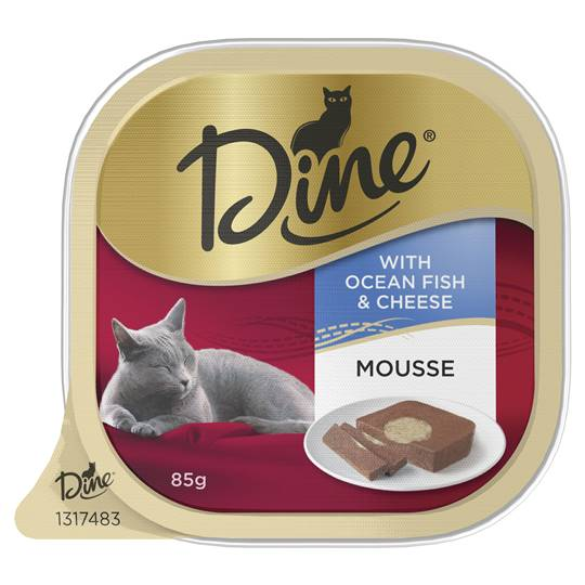 Dine Daily Mousse With Ocean Fish & Cheese