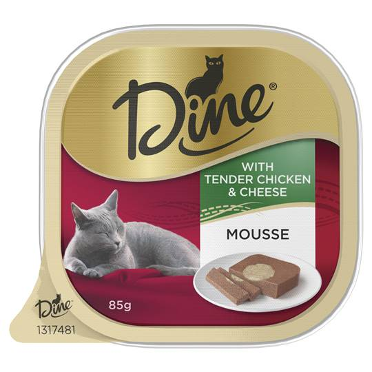 Dine Daily Mousse With Tender Chicken & Cheese